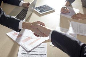 業務委託契約書の締結